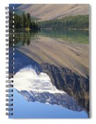 Mirror Lake Banff National Park Canada Spiral Notebook