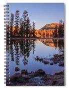 Mirror Lake Dawn Spiral Notebook