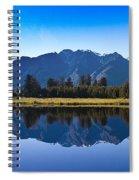 Mirror Lake Panorama Spiral Notebook