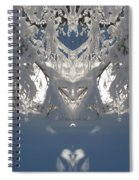Mirror Of Snow  Spiral Notebook