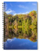 Mirror Reflections Of Fall Spiral Notebook