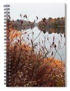 Mirror Smooth River Spiral Notebook