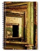 Mirror Within A Mirror Spiral Notebook