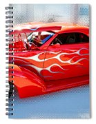 Mirrored Image Spiral Notebook