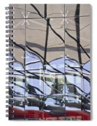 Mirroring On Vitreous Wall Spiral Notebook