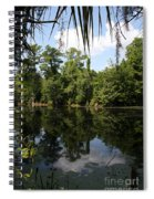 Mirrow Lake - Magnolia Gardens Spiral Notebook