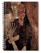 Misery Welcomes Spiral Notebook