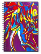 Miss 1966 Poster Design Spiral Notebook