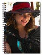 Miss Dawn Spiral Notebook