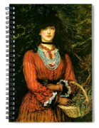 Miss Eveleen Tennant Spiral Notebook