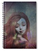 Miss Little Crocus Spiral Notebook