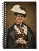 Miss Prim Spiral Notebook
