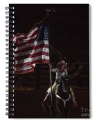Miss Pro Rodeo Usa Spiral Notebook