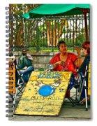 Miss Rose Has An Insight Paint Spiral Notebook