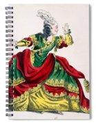 Miss Sainval As Zenobie In Zenobie Spiral Notebook