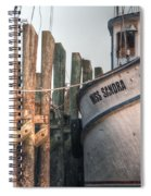 Miss Sandra Spiral Notebook