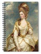 Miss Sarah Campbell Spiral Notebook