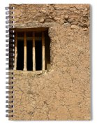 Mission Church Window Spiral Notebook