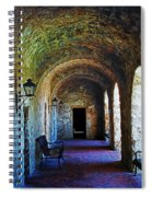 Mission Concepcion Cloister Spiral Notebook