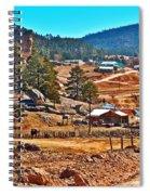 Mission Cusarare Tarahumara Village In Chihuahua-mexico  Spiral Notebook