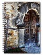 Mission Espada Entrance Spiral Notebook