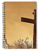Mission In Sepia Spiral Notebook
