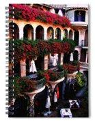 Mission Inn Portrait Spiral Notebook
