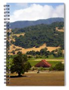 Mission Meadows Solvang California Spiral Notebook