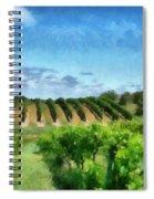 Mission Peninsula Vineyard Ll Spiral Notebook