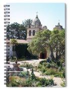 Mission San Carlos Borromeo Del Rio Carmelo Spiral Notebook