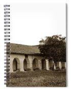 Mission San Juan Bautista San Benito County Circa 1905 Spiral Notebook