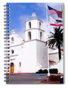 Mission San Luis Rey Spiral Notebook