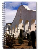 Mission San Xevier Del Bac Spiral Notebook