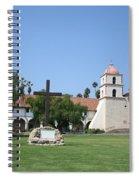 Mission Santa Barbara Spiral Notebook