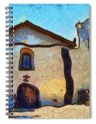 Mission Santa Ines Spiral Notebook