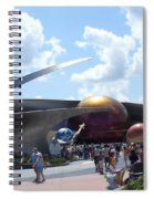 Mission Space Pavilion Spiral Notebook