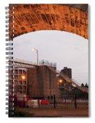 Mississippi Lock Spiral Notebook
