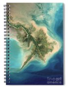 Mississippi River Delta, 2001 Spiral Notebook