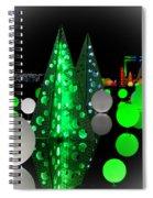Missouri Botanical Garden Glow Dsc09293 Spiral Notebook