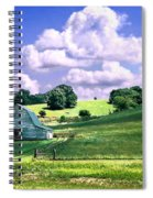 Missouri River Valley Spiral Notebook