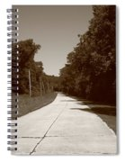 Missouri Route 66 2012 Sepia. Spiral Notebook