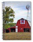 Missouri Star Quilt Barn Spiral Notebook