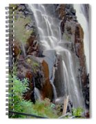 Mist From The Falls Spiral Notebook