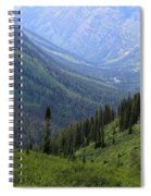 Mist In The Valley Spiral Notebook