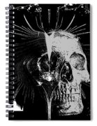 Mist Of Death Spiral Notebook