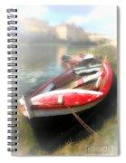 Mist On The Arno Spiral Notebook