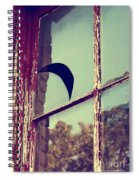 Mister Moon Spiral Notebook
