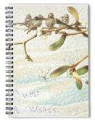 Mistletoe In The Snow Spiral Notebook