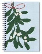 Mistletoe Spiral Notebook