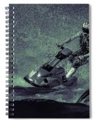 Scary Split-second At Sixty Mph Spiral Notebook